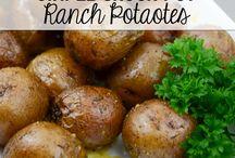 vegies & potato dishes
