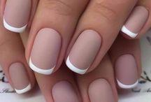 Mãos, Dedos, Unhas e pintura