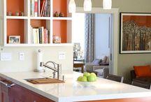 Bucatarii primitoare / Bucataria ar trebui sa fie locul cel mai cald si placut al casei, a carei atmosfera sa te ademeneasca.