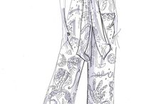 Fashion Illustrations/Croquis