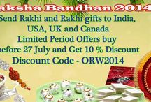 Rakhi Banners and Offers