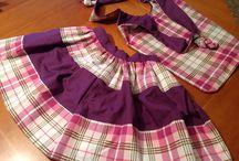 SEWING & MADE BY ME / Petites idees, bocins de roba, una màquina de cosir, unes mans, tisores i....endevant