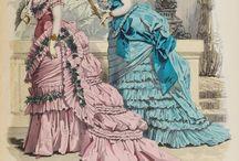 Fashion plates: 1870s