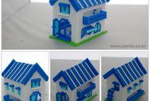3D perle huse