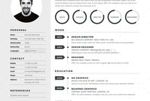 Resume Templates - Photoshop