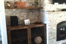 Custom Furniture / Custom Furniture made from Reclaimed Barn Wood & Live Edge Wood. Custom Steel Bases.