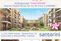 Tata Santorini / Tata Santorini - Spanish-style 1, 1.5, 2, 3 & 3.5 BHK homes which are strategically located in the upcoming residential corridor of Poonamallee, located off the Bengaluru- Chennai NH 4.