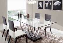 Mesas de comedor modernas / Preciosas mesas de comedor  modernas