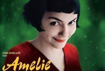 Amélie / French tittle : Le Fabuleux Destin d'Amélie Poulain (The Fabulous Destiny of Amélie Poulain) is a 2001 romantic comedy film directed by Jean-Pierre Jeunet. The film is a depiction of contemporary Parisian life, set in Montmartre. It tells the story of a shy waitress, played by Audrey Tautou, who decides to change the lives of those around her for the better, while struggling with her own isolation.  / by Amina Timsit