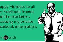 Greeting Ecards for Christmas Holidays