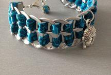 bracelets avec capsules de cannettes