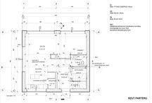 AKTUALIZACJA- 31.03.14, 02.04. 14 / Zmiany wprowadzone: konieczność powiększenia pomieszczenia technicznego układ łazienek zagospodarowanie terenu