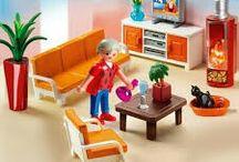 playmobils' rooms