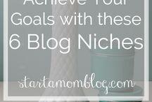 Productive Blogging Tips / Blogging, make money blogging, get more traffic, share your blog posts, social media, blogging tips, grow your blog, start a blog.
