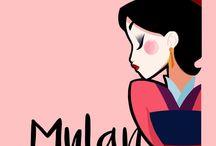 Disney - Mulan ♊