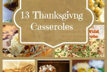 Thanksgiving Recipes & Craft Ideas / Craft ideas for everyone , Casserole Dishes, Side Dishes , Yummy Desserts