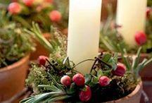 A LUME DI CANDELA / candele accese
