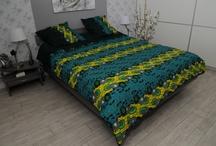 WaxinDeco - Linge de lit / Decoration ethnique - Quoi de plus agreable qu'un linge coloré et africain invitant au repos ?