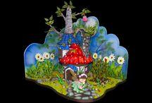 Fairy Tale Cakes / Many popular fairy tale cakes from CakesDecor