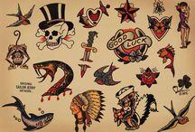 old school tatouage