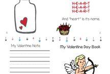 Valentine Day Worksheets - worksheets4kids