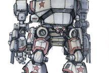 robots and mech