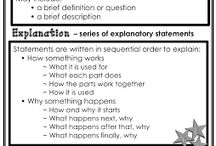 Explanation writing