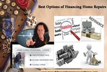 Best Options of Financing Home Repairs / It's very much essential to undertake home improvement repairs for your house through refinancing.There are different possible financing options to choose for home remodeling in a good budget and in an easier manner