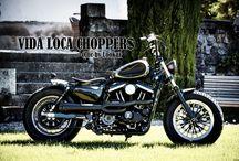 "Sportster Harley ""Sienne"" by Vida Loca Choppers / Sportster Harley Sienne Designed by Vida Loca Choppers Switzerland in 2013"