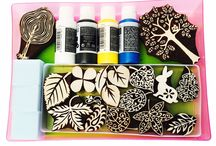 Colouricious Textile Art / Block Printing is my passion but I love all textile art and crafts so this is a sample of what Colouricious offers. / by Colouricious