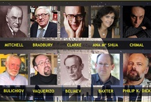 Escritores de Ciencia Ficción / by Pedro Fernández Larrasquitu