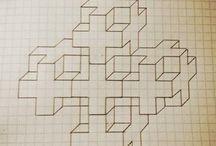 idei pe  pătratele