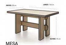 Muebles cartón / Muebles