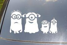 Minions stickers