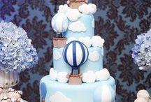 hot air balloon cakes