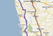 Malvan Road map / Malvan can be easily reached by road and by railway, How to reach Malvan is not at all a big issue, since there are many types of transportations available for Malvan.