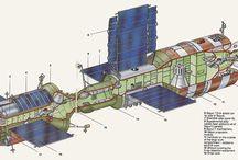 stacje kosmiczne i inne