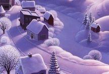 Иллюстрации зима