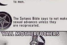 Satanic / hail satan