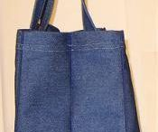 sewing pattern grocery bag.