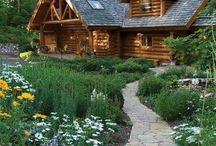 Orman ve doğal evler/Forest and natural houses
