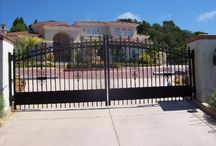 Arched Gates / Driveway Gates, Wrought Iron, Arched Gates, Automatic Gates, CCOI