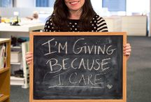12 Days of Giving  / inspired by #GivingTuesday / by The Motherhood