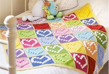 crochet - blankets, granny squares