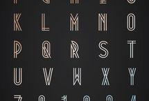 Letters - Monoline