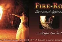 Die romantische Hochzeits-Feuershow / Schliessen Sie den Feuerbund für's Leben!