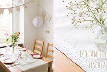 Nähen ♥ Home & Deko / Die schönsten Nähideen für Home & Deko aus dem BERNINA Blog
