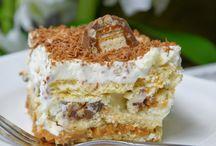 Nepečené dorty a dezerty