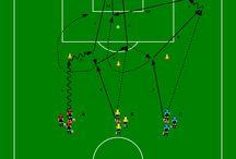 Soccer Formations Drills