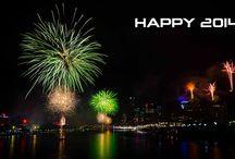Feliz 2014 / Bienvenida al 2014.